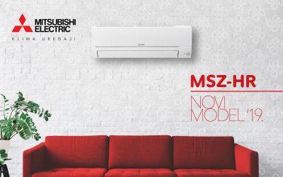 NOVO IZ MITSUBISHI ELECTRICA – MSZ-HR